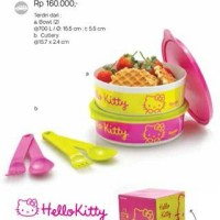 Tupperware Hello Kitty Meal Time Tempat Makan