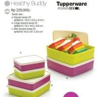 Tupperware Healty Buddy Paket Square Away Tempat Makan