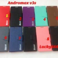 Andromax V3s Smartfren Silikon Soft Case Jelly Cover Sarung Casing