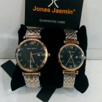 Jam Tangan Jonas Jasmin Couple Combinasi Original Tanggal Aktif