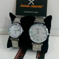 Jam Tangan Jonas Jasmin Couple Original Silver, Tanggal Aktif