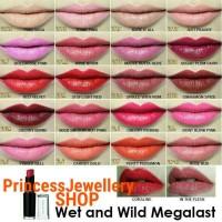 Jual Wet N Wild MegaLast USA Lipstick 100% Authentic Original ONLY Murah