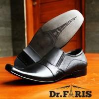 Sepatu Formal Pantofel Dr. Faris Kulit Asli 01
