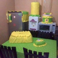 Home Set / Set Dapur / Kitchen Set / Set Taplak Meja
