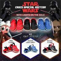 Sepatu CROCS KW Star Wars (with lights)