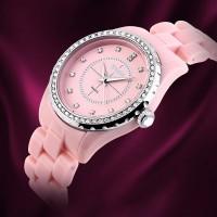 Jam Tangan SKMEI Original   Jam Tangan Wanita Rantai - 1159 - Pink
