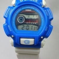 JAM TANGAN G-SHOCK DW 6900 WHITE BLUE MURAH