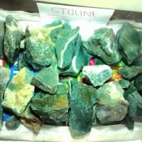 harga OBRAL rough bahan batu akik Natural Green Ijo / Hijau Garut Tokopedia.com