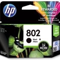 Cartridge HP 802 Black printer HP 1000, 1010, 1050, 1510, 2000