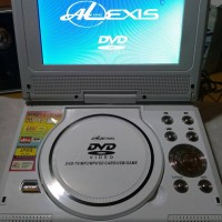 DVD Player Portable Alexis 7.5 Inch White Second