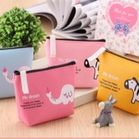 Dompet Koin PU, Cute Coin Bag Pouch, Dompet Koin Character