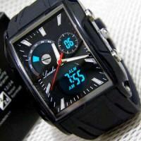 Jam Tangan Lasebo LSB-870 Rubber (Full Black)
