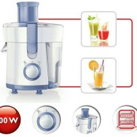 PHILIPS JUICE EXTRACTOR HR 1811 JUICER 300W 0.L