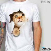 harga Kaos 3D umakuka-kitty/kaos3d animal/kaos kucing/kaos keren Tokopedia.com