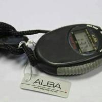 harga Stopwatch ALBA SW-01 Black Tokopedia.com
