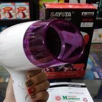 Hair Dryer Pengering rambut Sayota  SHD-306 (UNGU) Gagang Bisa Dilipat