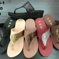 Sendal Sandal Jelly Shoes Wave Blink Cewek Wanita Lentur Elastis Murah