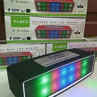 Speaker Bluetooth FLECO F-509 Lampu Led Disco