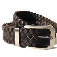Belt Osberg Nappa Webbing Brown Sabuk Kulit Genuine Leather Belt