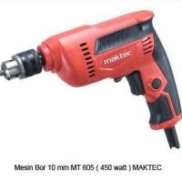 """Maktec MT605 / MT 605 - Mesin Bor Listrik 10 Mm 3/8"""" 450W"""