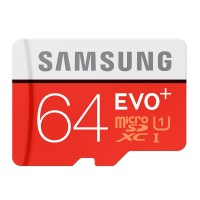 harga Samsung MicroSDXC EVO Plus Class 10 UHS-1 (80MB/s)64GB with SD Adapter Tokopedia.com