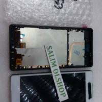 LCD TOUCHSCREEN + FRAME SONY XPERIA Z4 E6553 ORI FULLSET