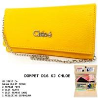 Dompet Wanita Kulit D16 Kj Chloe Kuning
