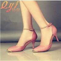 harga sandal sepatu wanita pesta kerja casual santai formal w5 Tokopedia.com
