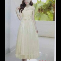 harga Longdress Import / Gaun Pesta Korea / Baju Pesta Panjang Tokopedia.com
