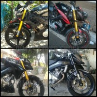 Cover Shock USD Old Vixion , New Vixion Lightning , New Vixion Advance