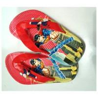 Sandal Jepit Anak #Sandal Superman #Sandal Anak Laki-laki