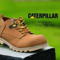 Jual boot safety murah | sepatu caterpillar | casual pria | Bandung Murah