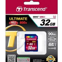 harga Transcend SDHC (UHS-I) 32GB 600X Tokopedia.com