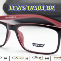 harga Kacamata Frame Baca Levis Tr 503 Lensa Baca Minus/plus Tokopedia.com