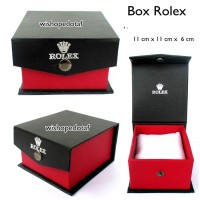 Kotak Jam Tangan Kancing kokoh Dengan Bantal merek rolex