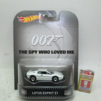 Hotwheels Lotus Esprit S1 007 The Spy Who Loved Me