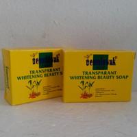 Sabun Temulawak Transparan / Sabun Temulawak Whitening Beauty Soap