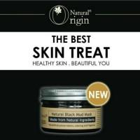 Masker Lumpur Hitam Natural Origin / Black Mud Mask