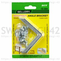 Bracket Siku Adjustable 65mm [isi: 4 pcs] (19-584) SELLERY