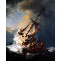 harga Replika Lukisan Christ in the Storm on the Lake of Galilee (1633) Tokopedia.com