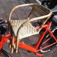 Kursi Sepeda Rotan Boncengan Anak Depan Sepeda Gunung Aman Nyaman