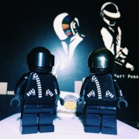 Lego Original Daft Punk Custom Made