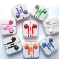 Earpods Apple / Earphone Apple / Handsfree iPhone 5 - Rainbow Colours