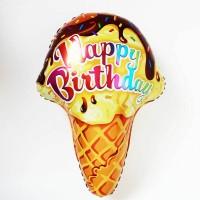 Balon foil Ice Cream / es krim Cone