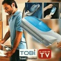 Setrika Uap Steamer Tobi Laundry Travel Iron Baju Celana Jas Kaos Cd