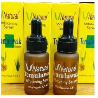 Serum V Natural | Temulawak | Whitening Serum | Serum Wajah