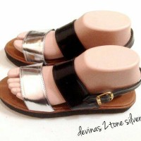 Devians Two Tone / Sepatu Wanita / Sandal Wanita / Docmart / Platform