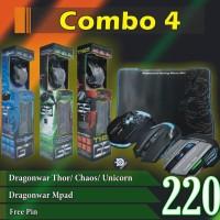 Dragonwar Thor / Chaos / Unicorn Mouse, Dragonwar Mpad Medium Free Pin
