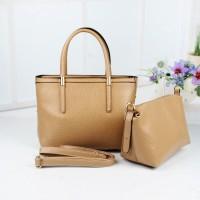 Tas Import 2 In 1 Tote Bag Handbag Clutch