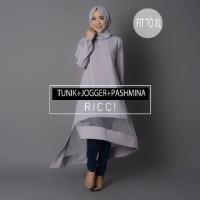 Hijab Ricci Set/model baju hijab/model baju/hijab2016/trend baju 2016